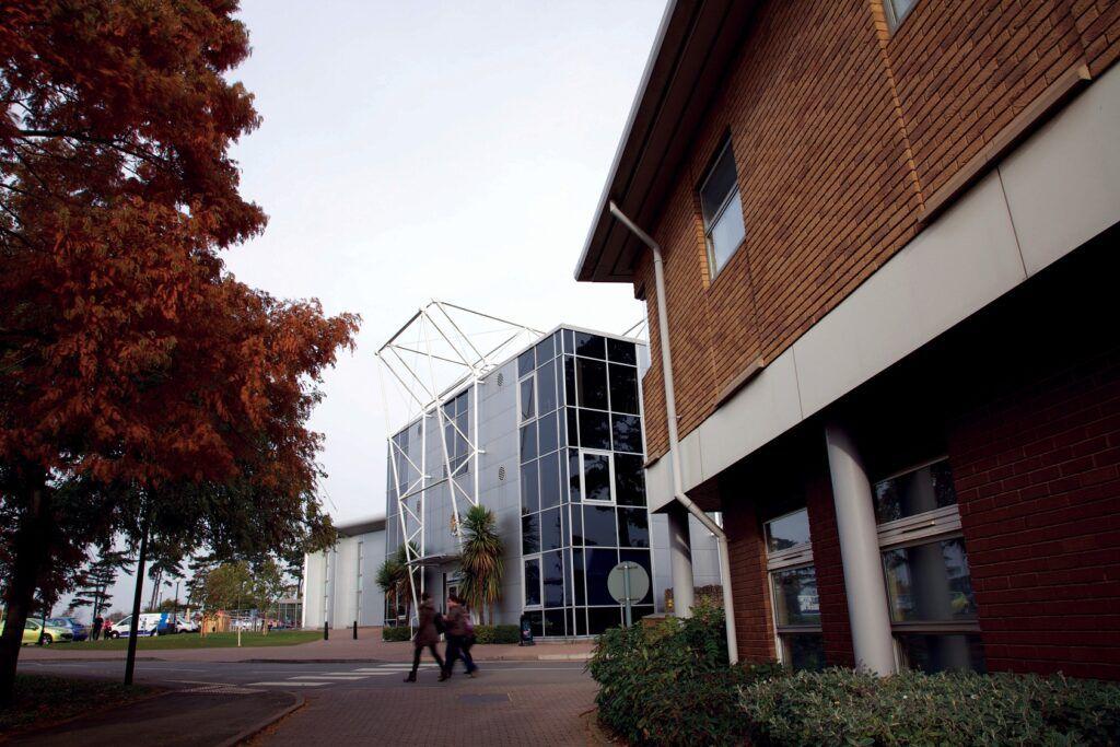The University of Northampton campus buildings